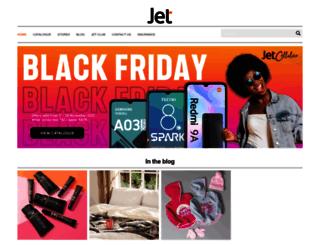 jetonline.co.za screenshot