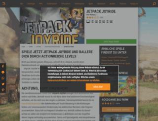 jetpack-joyride.browsergames.de screenshot