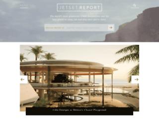 jetsetreport.com screenshot