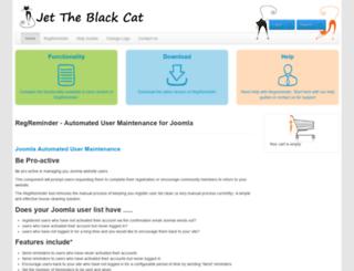 jettheblackcat.com screenshot
