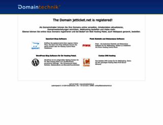 jetticket.net screenshot