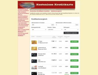 jetzt-kostenlose-kreditkarte.de screenshot