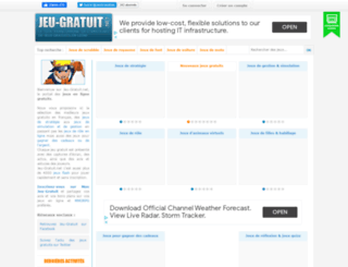 jeu-gratuit.net screenshot