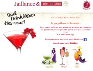 jeu-jaillance-sofresh.com screenshot