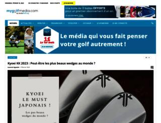 jeudegolf.org screenshot