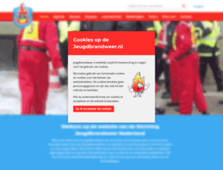 jeugdbrandweeramerongen.nl screenshot