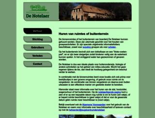 jeugdcentrumdenotelaer.nl screenshot