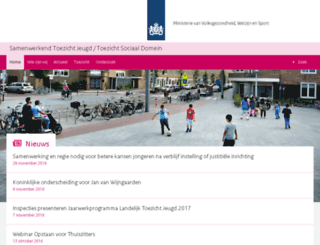 jeugdinspecties.nl screenshot