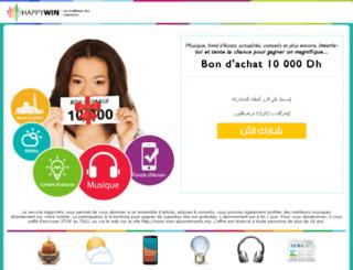jeuhappywin.com screenshot