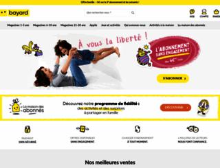 jeunesse.bayardweb.com screenshot