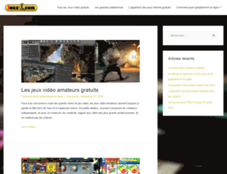 jeux-1.com screenshot