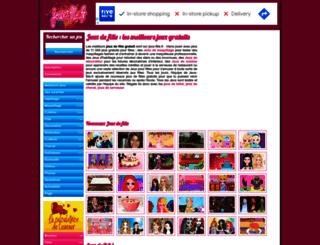 jeux-fille.fr screenshot