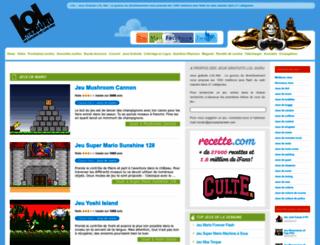 jeux-gratuits.lol.net screenshot