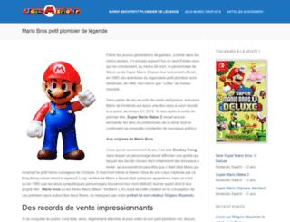 jeux-mario.fr screenshot