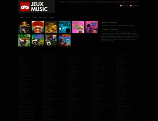 jeux-music.com screenshot