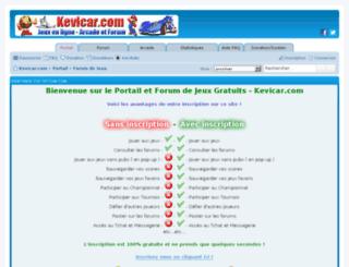 jeux.kevicar.com screenshot