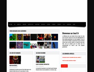 jeux7.fr screenshot