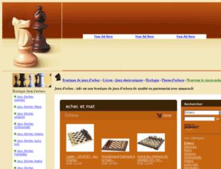 jeuxdechec.info screenshot