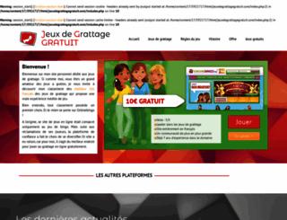 jeuxdegrattagegratuit.com screenshot