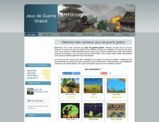jeuxdeguerregratuit.net screenshot