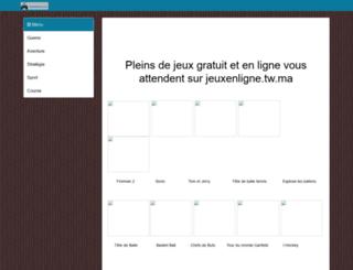jeuxenligne.tw.ma screenshot
