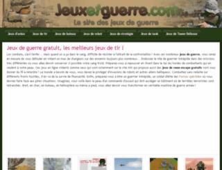 jeuxetguerre.com screenshot