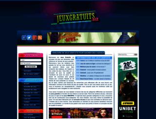 jeuxgratuits.biz screenshot