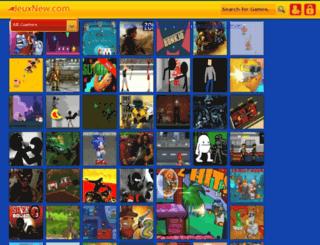 jeuxnew.com screenshot