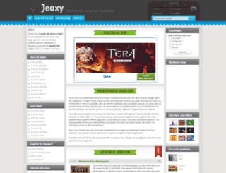 jeuxy.com screenshot