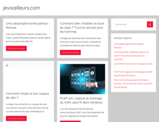 jevisailleurs.com screenshot