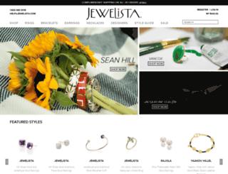 jewelista.com screenshot