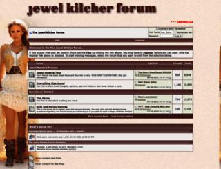 jewelkilcherforum.com screenshot