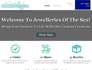 jewelleriesofthesea.com screenshot