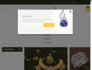 jewellery18.com screenshot