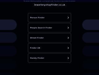jewelleryshopfinder.co.uk screenshot