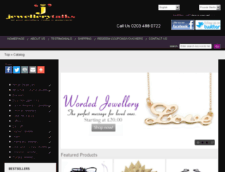 jewellerytalks.co.uk screenshot