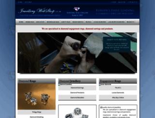 jewellerywebshop.co.uk screenshot