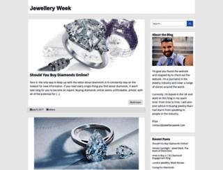 jewelleryweek.com screenshot