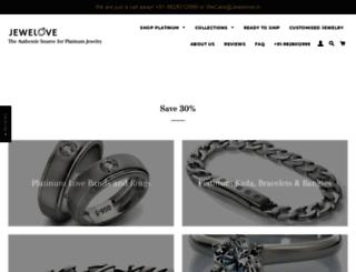 jewelove.in screenshot