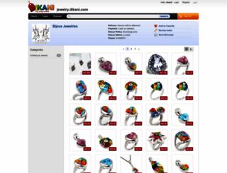 jewelry.dikani.com screenshot