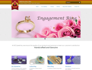 jewelry.rcdgroup.ph screenshot