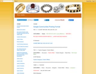 jewelry1786.blogspot.in screenshot
