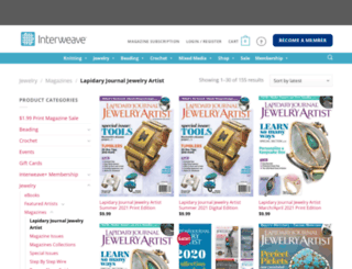 jewelryartistmagazine.com screenshot