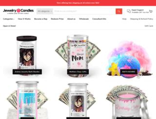 jewelrycandles.com screenshot