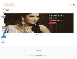 jewelryezone.in screenshot