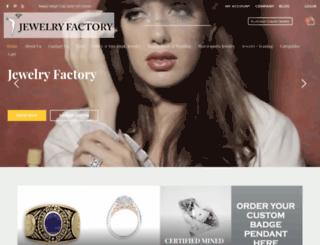 jewelryfactory.com screenshot