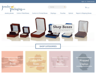 jewelrypackaging.com screenshot