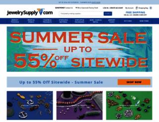 jewelrysupply.com screenshot