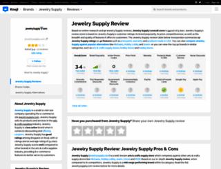 jewelrysupply.knoji.com screenshot