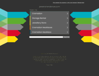 jewelrytrendsnow.com screenshot